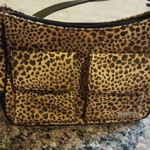 Rosetti new leopard print organized purse.